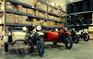 Ural Lineup at Seattle HQ MotoADVR
