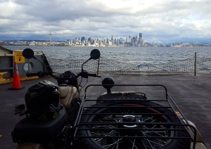 Ural Seattle Skyline MotoADVR