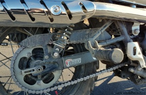 Triumph Scrambler Chain Guard MotoADVR