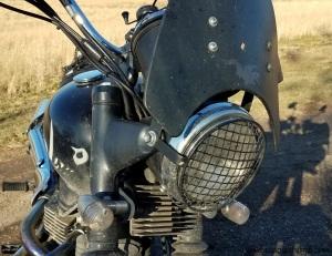 Triumph Scrambler Headlight MotoADVR