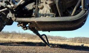 Triumph Scrambler Skid Plate Oil Filter MotoADVR