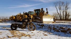 Triumph Scrambler Snow Bulldozer MotoADVR