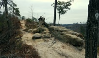 Auxier Ridge Rock Trail MotoADVR