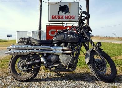 Bush Hog Warhog Triump Scrambler MotoADVR