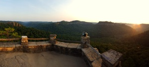 Chimney Top Rock Pano 3 MotoADVR