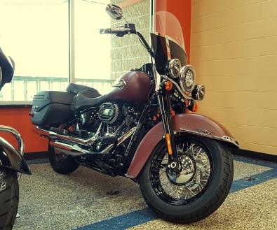 2018 Harley Davidson Heritage Softail MotoADVR