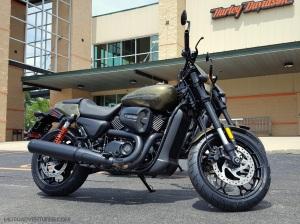 Harley Davidson Street Rod MotoADVR