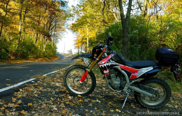 Honda CRF250L Fall Colors MotoADVR