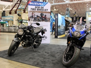 Suzuki New on Two Wheels MotoADVR