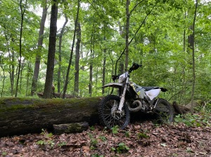 Husqvarna TE250 Log