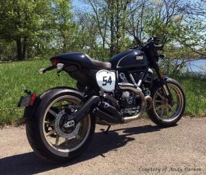Ducati Scrambler 800 Cafe Racer Rightquarter Andy Parker