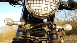Mosfet Rectifier Installed Triumph Scrambler MotoADVR