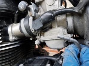 EVAP Delete Left side Throttle Body Capped MotoADVR