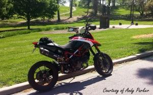Ducati Hypermotard Cincy Andy Parker