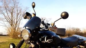 Dart Flyscreen Triumph Scrambler MotoADVR