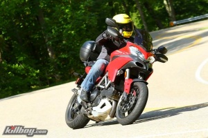 Ducati MultiStrada 1200 Andy Parker