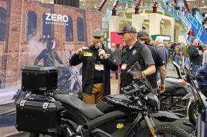 Zero Motorcycles Cleveland Moto Podcast MotoADVR