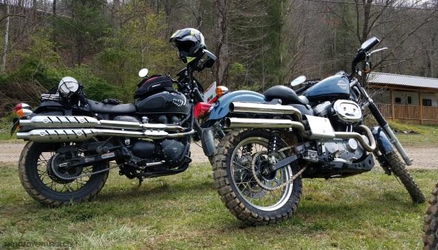 Dualing Scrambler MotoADVR