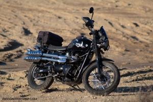 Triumph Scrambler Dirt Pile MotoADVR
