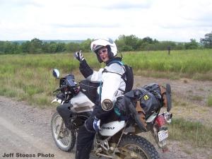 Honda Trans Alp Jeff Stoess KAT