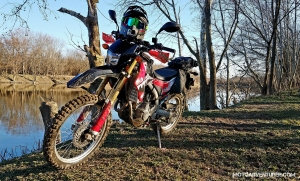 CRF250L Great Miami River MotoADVR