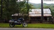 Exploring the Appalachian backcountry - Moto Adventurer Photo