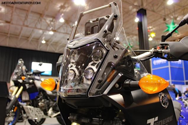 Yamaha Tenere 700 nose MotoADVR