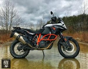 KTM 1190R creek ADVExplore