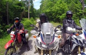 4 Hondas