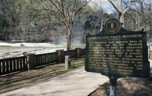 Cumberland Falls Historic Marker MotoADVR