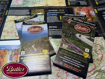 Butler Maps MotoADVR