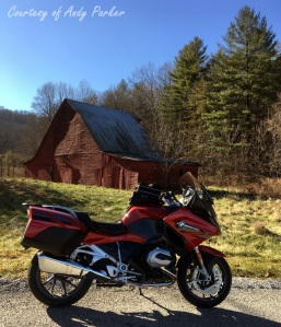 BMW R1200RT Barn Andy Parker