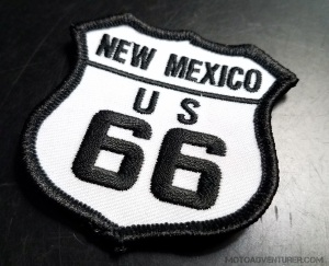 Route 66 New Mexico Patch MotoADVR