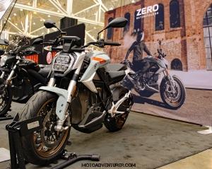 Zero Motorcycles SR-S MotoADVR