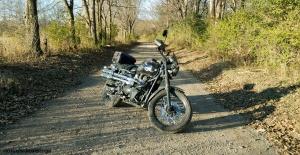 Triumph Scrambler Anothony Road Sundown MotoADVR