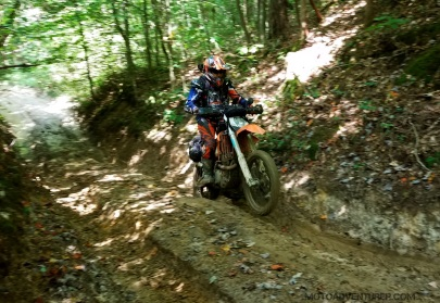 Bill Mountain Springs Ruts MotoADVR