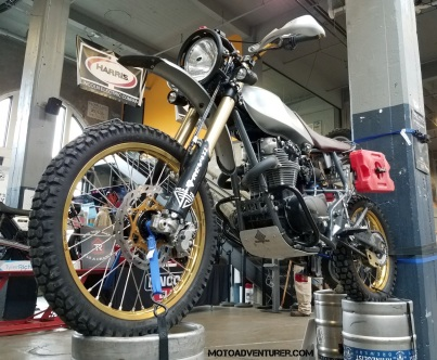 Yamaha XS650 MotoADVR