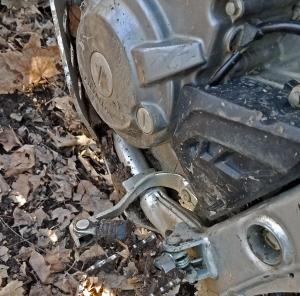 CRF250L Bent Shift Pedal MotoADVR