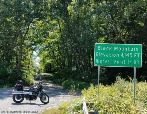 Triumph Scrambler Black Mountain Sign MotoADVR