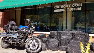 Triumph Scrambler Kentucky Coal Museum MotoADVR