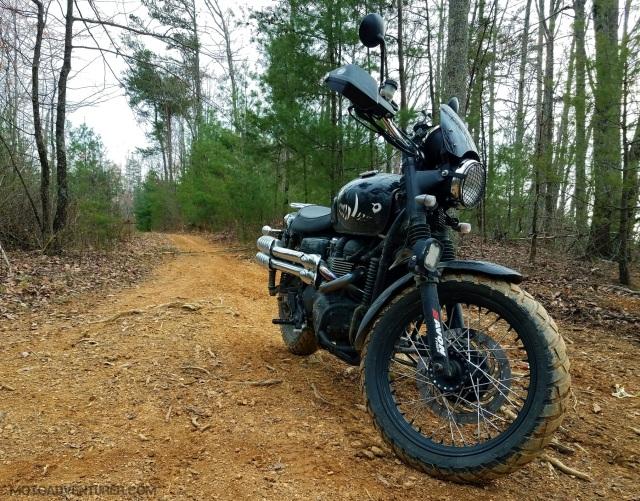 Triumph Scrambler Dirt Trail MotoADVR