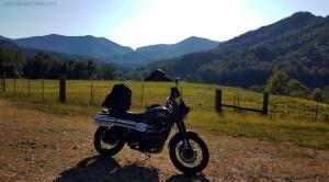 Triumph Scrambler Stecoah Valley NC MotoADVR