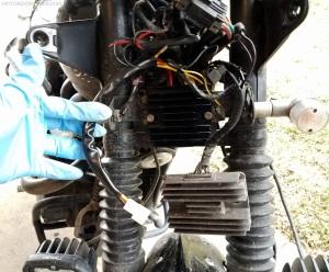 Mosfet Rectifier Installation Triumph Scrambler MotoADVR