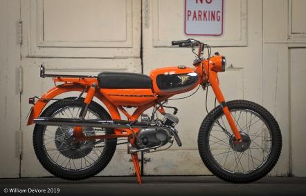 Bike #8 Tim Mings/Barry Shoenberger-Tohatsu Trailmaster