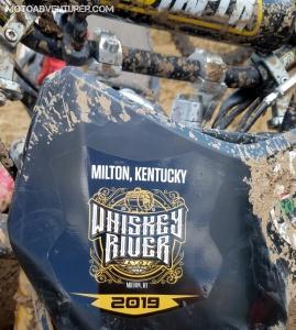 IXCR Whiskey River Sticker MotoADVR
