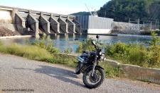 Triumph Scrambler Chilhowee Dam MotoaDVR