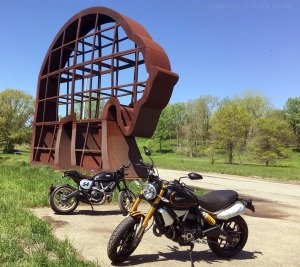 Ducati Scrambler 1100 Sport and 800 Cafe Racer Andy Parker