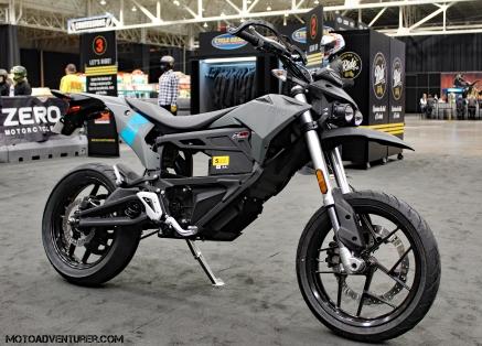 Zero Motorcycles FXS MotoADVR