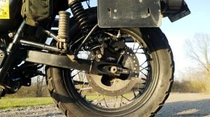 Rear Break Relocation Bracket Motone Triumph Scrambler MotoADVR