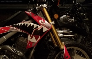 Honda CRF250L Triumph Scrambler Stable MotoADVR